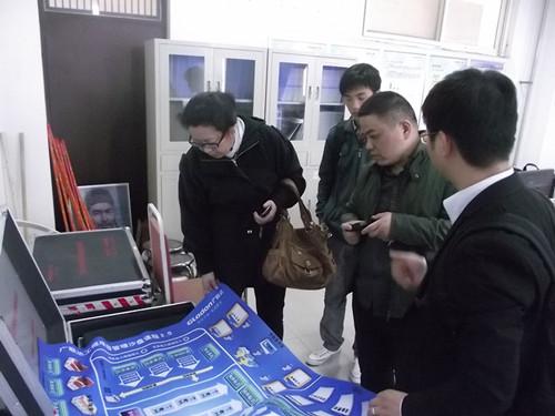 土木工程与建筑系赴中原工学院沙盘实验室参观调研